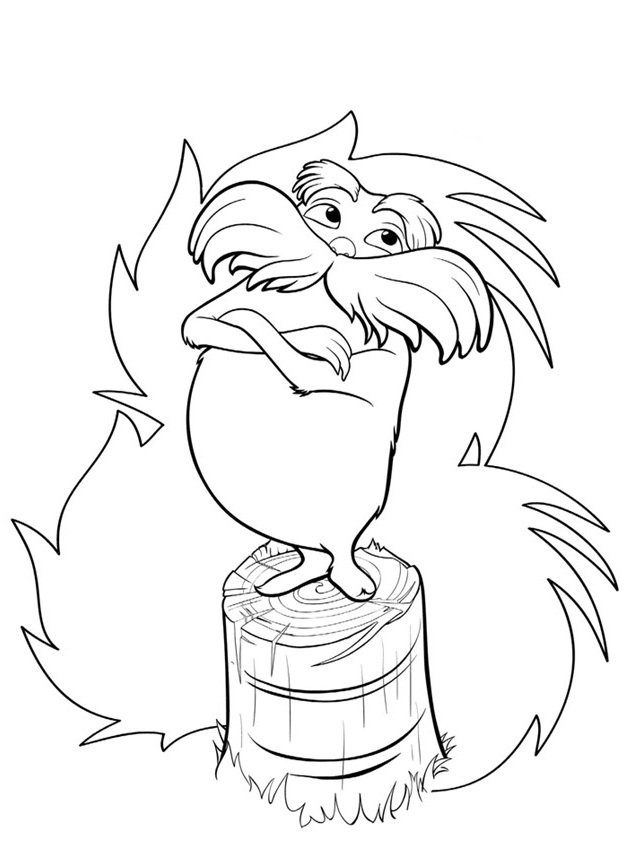 Lorax Coloring Pages 360ColoringPages