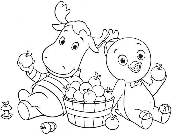 Backyardigans Coloring Pages to Print