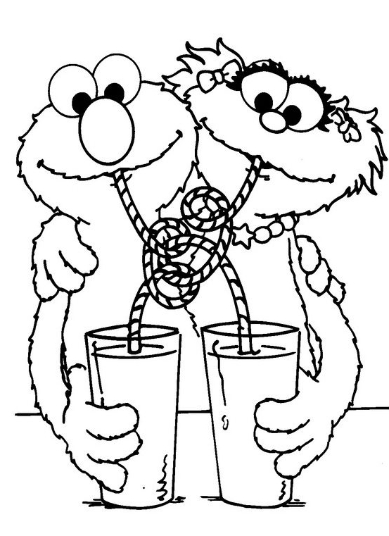 Sesame Street Rosita Coloring Pages