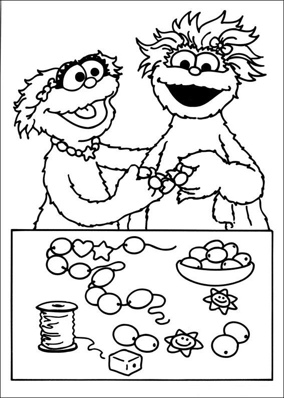 Sesame Street Coloring Pages to Print