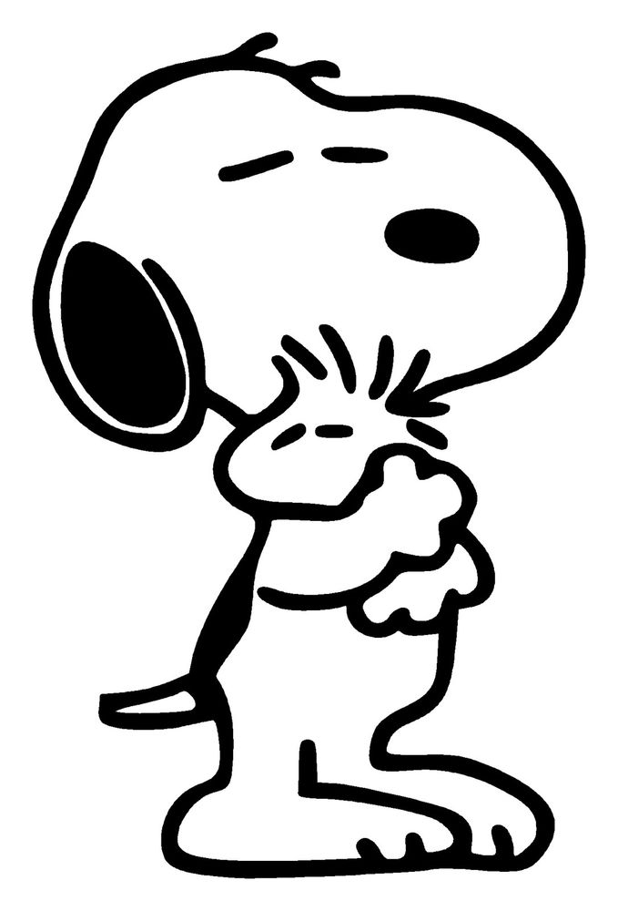 Snoopy Coloring Pages Printable Free