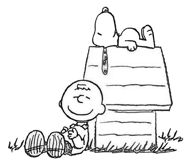Free Snoopy Coloring Sheets