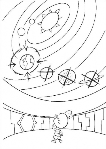 Free Solar System Coloring Pages Printable