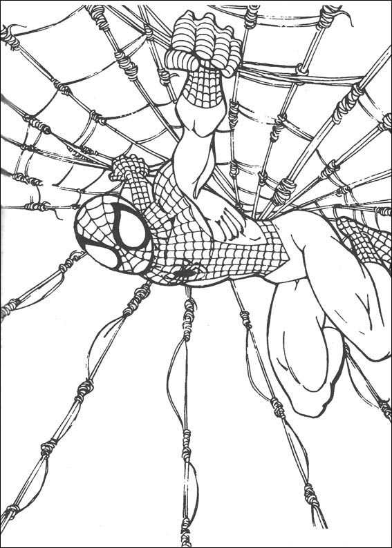 Spiderman 3 Coloring Page