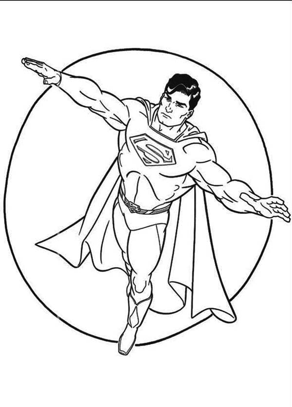 superman logo printable coloring pages | Superman Coloring Pages | 360ColoringPages