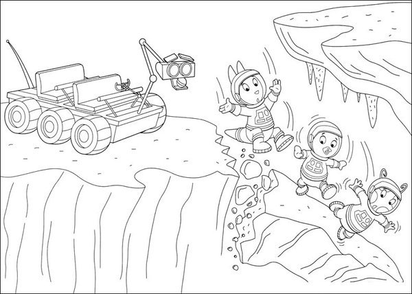 The Backyardigans Coloring Page to Print