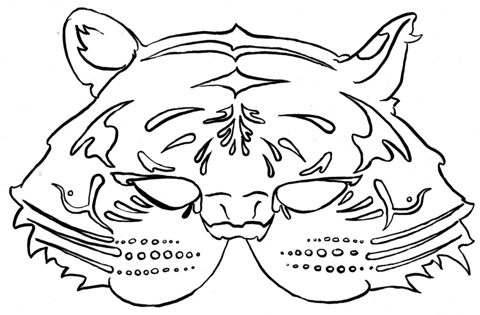 Mask Coloring Pages | 360ColoringPages