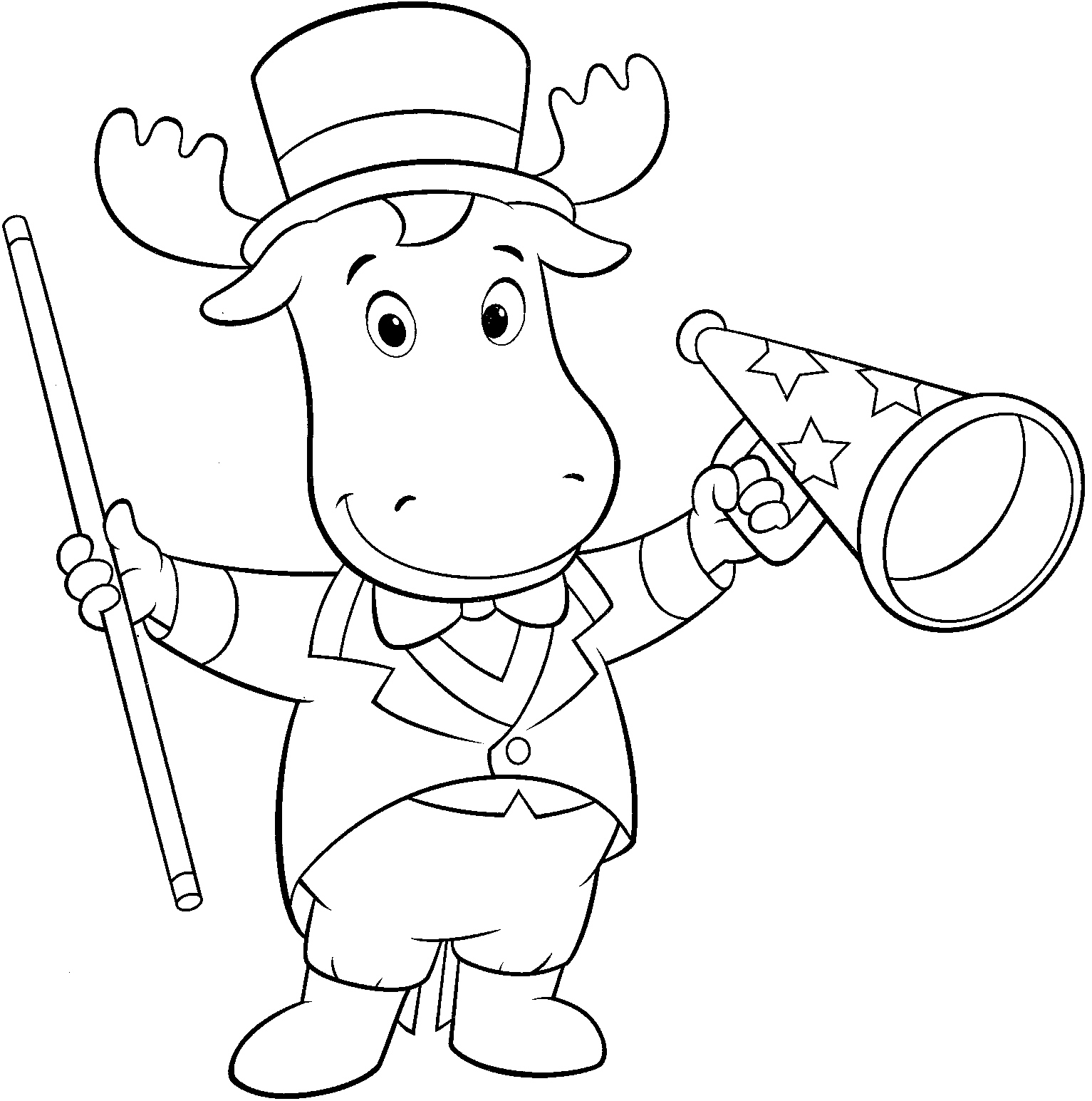 Backyardigans Tyrone Coloring Pages