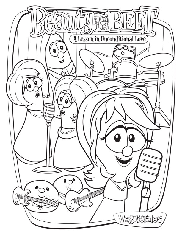 Veggie Tales Coloring Pages to Print