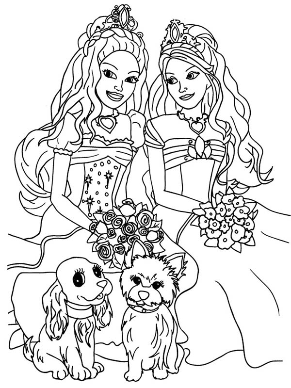 barbie coloring pages for girls - barbie coloring pages 360coloringpages