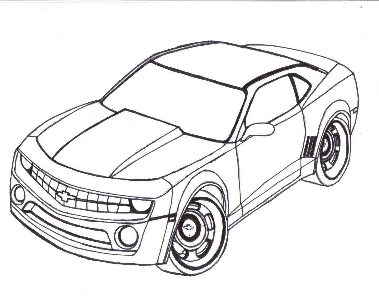 Automobile Coloring Pages Printable