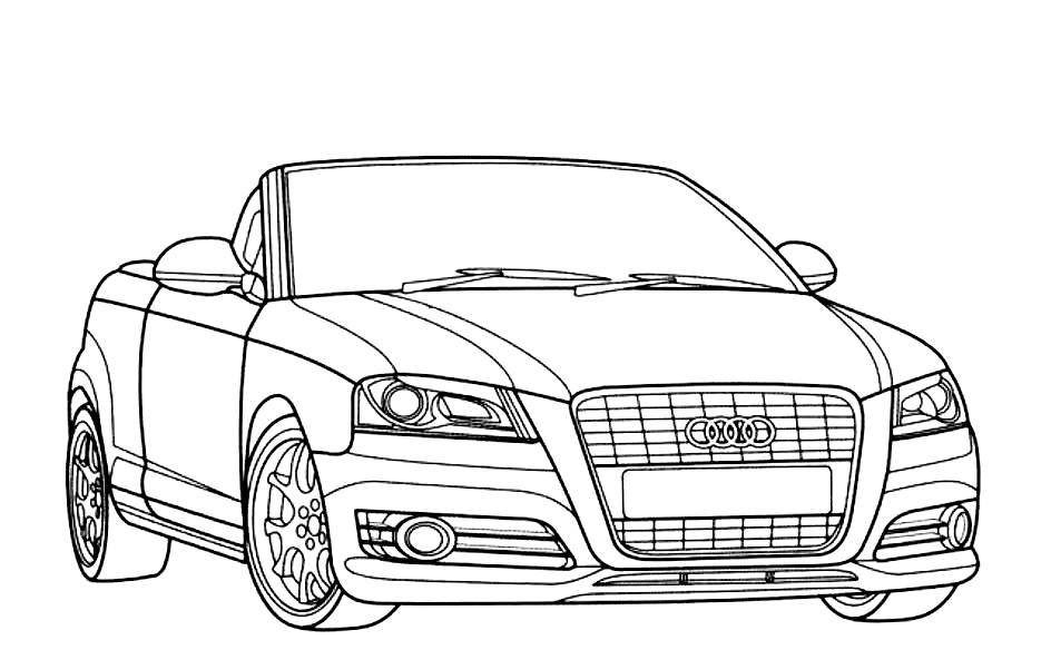 car coloring pages 360coloringpages. Black Bedroom Furniture Sets. Home Design Ideas