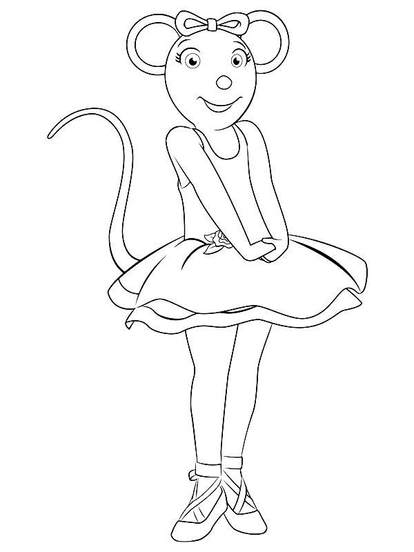Coloring Pages Ballerina