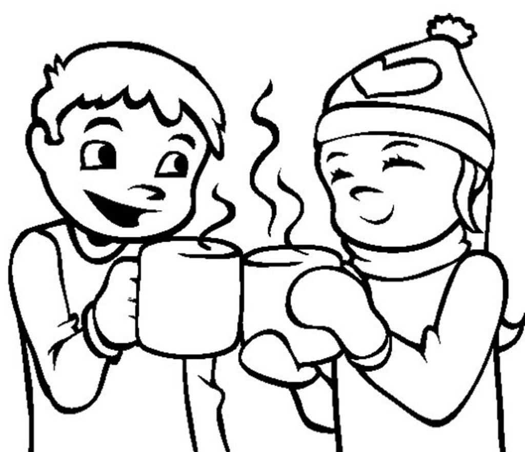 winter coloring pages 360coloringpages
