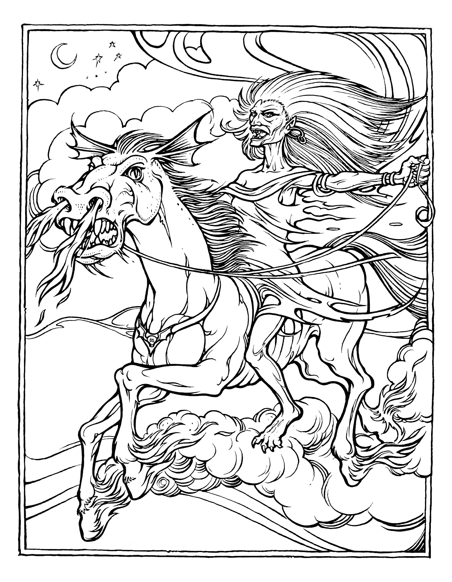 Dragon coloring pages 360coloringpages for Adult color page