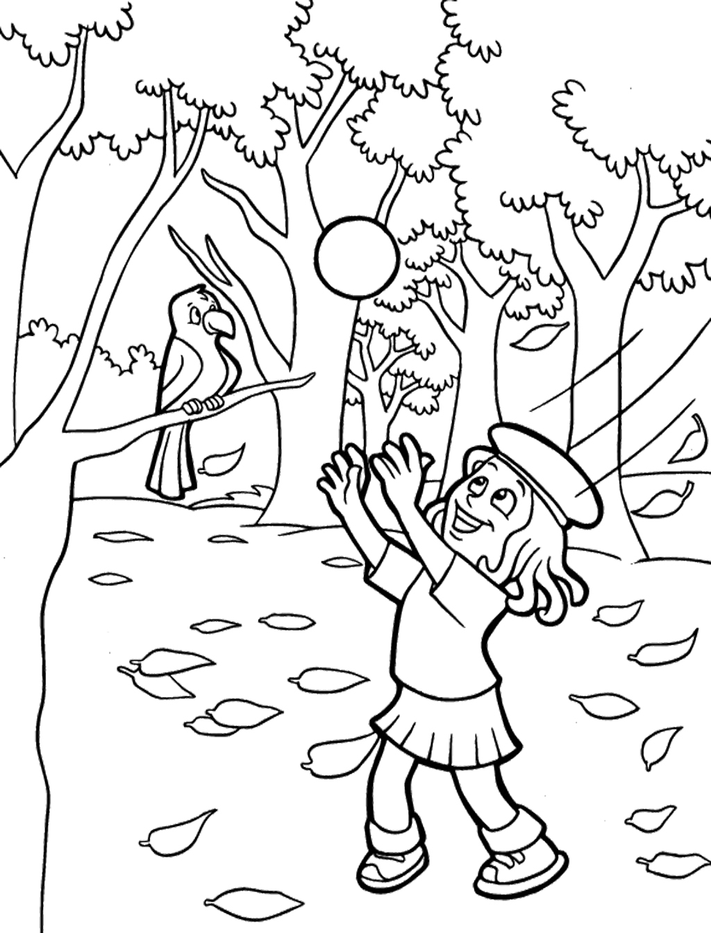 100 kids fall coloring pages free preschool fall coloring