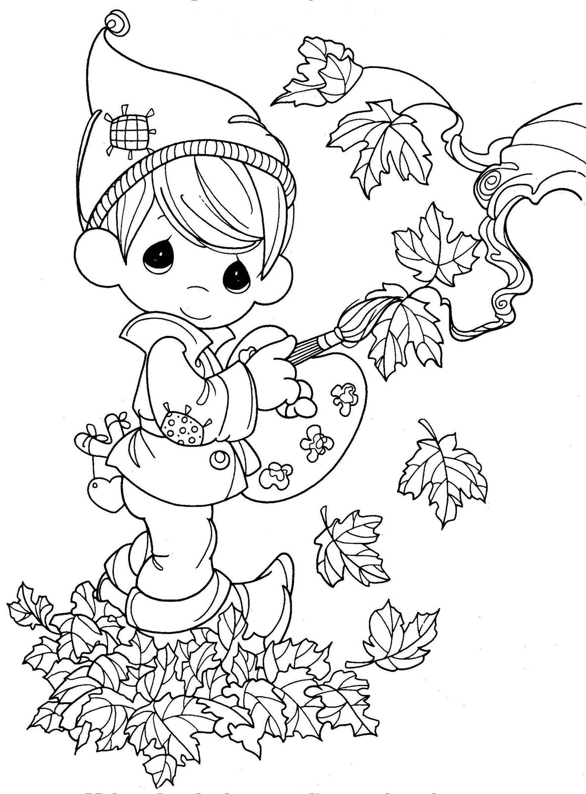 Fall Season Coloring Pages