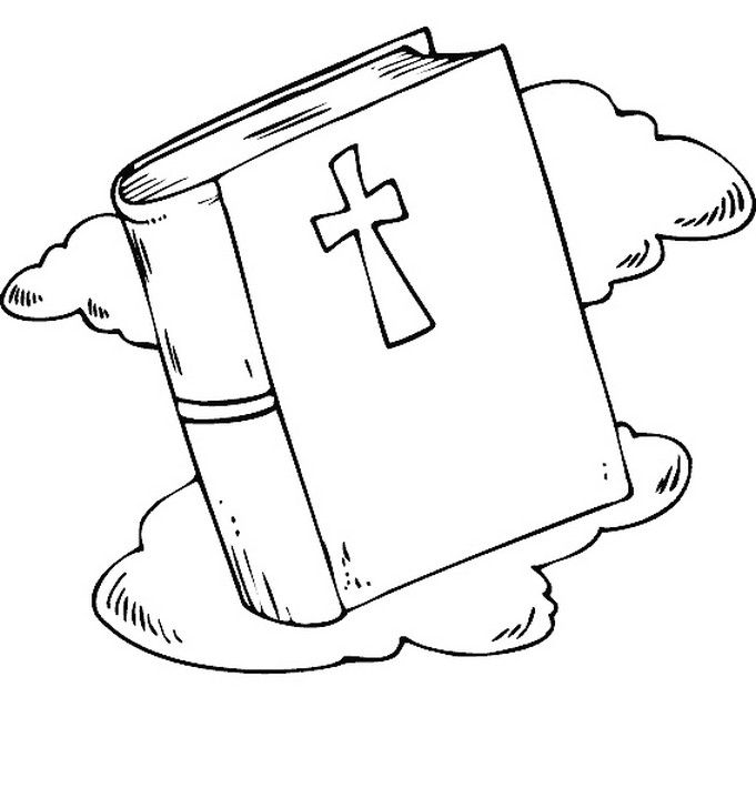 bible coloring pictures - 681×710