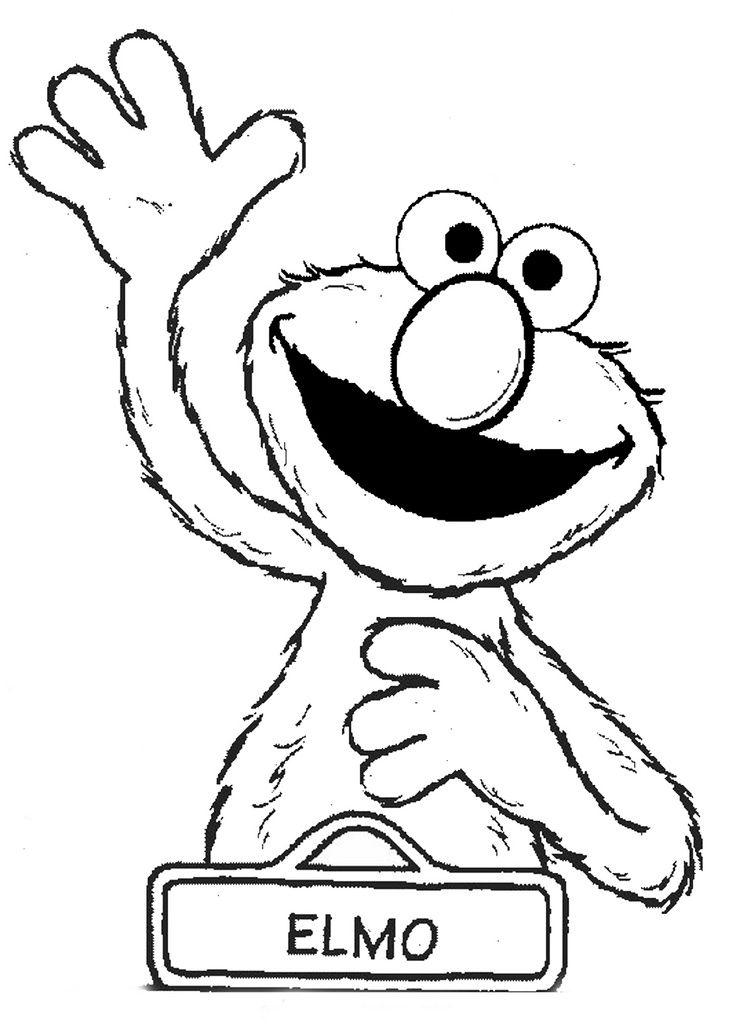 Elmo Coloring Pages Coloringpages