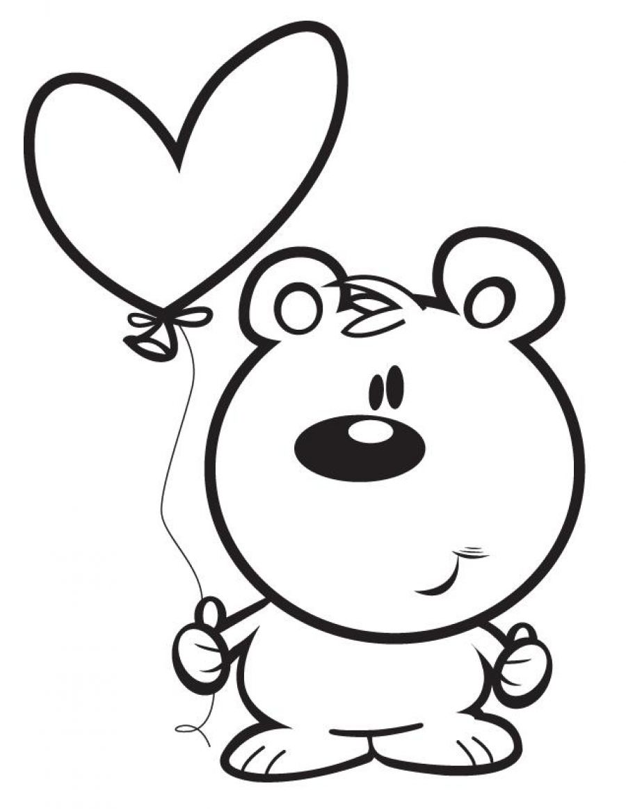 Heart Coloring Pages | 360ColoringPages