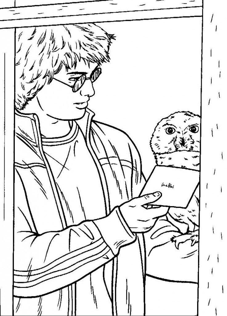 Harry Potter Coloring Pages | 360ColoringPages
