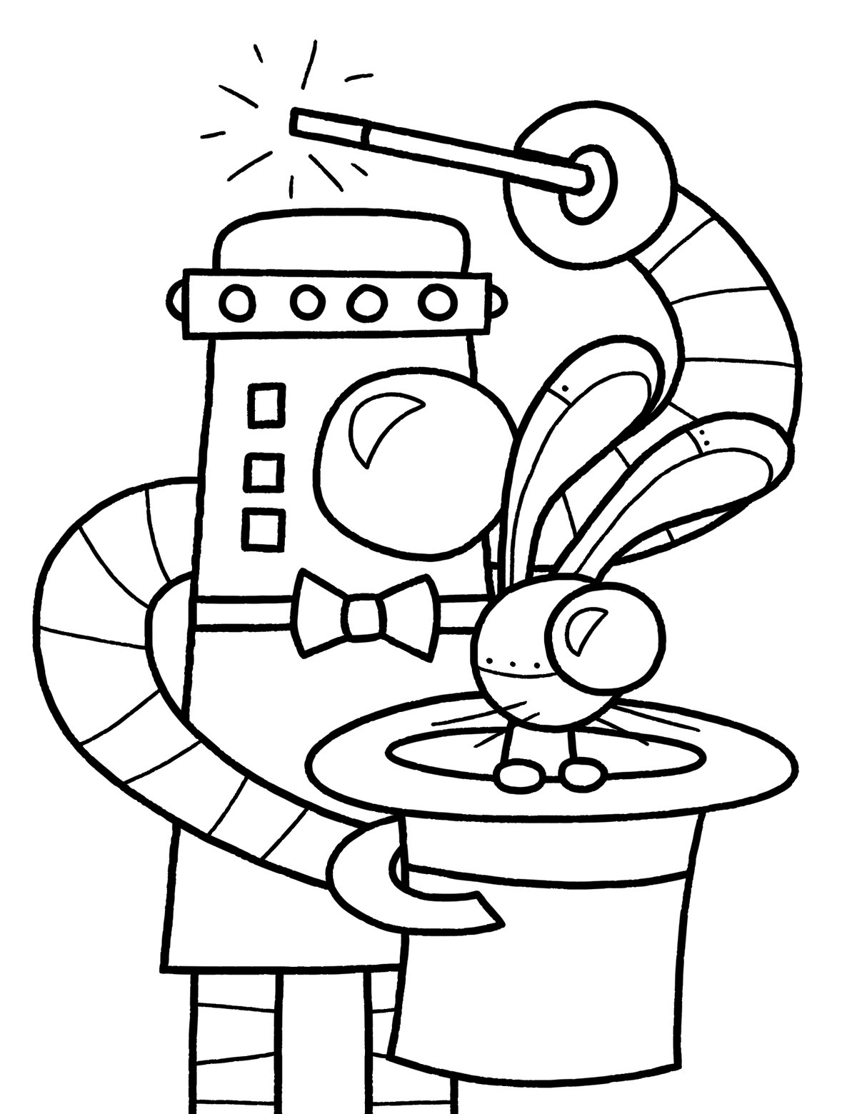 24 Ideas for Robot Coloring Pages for Kids - Home ...