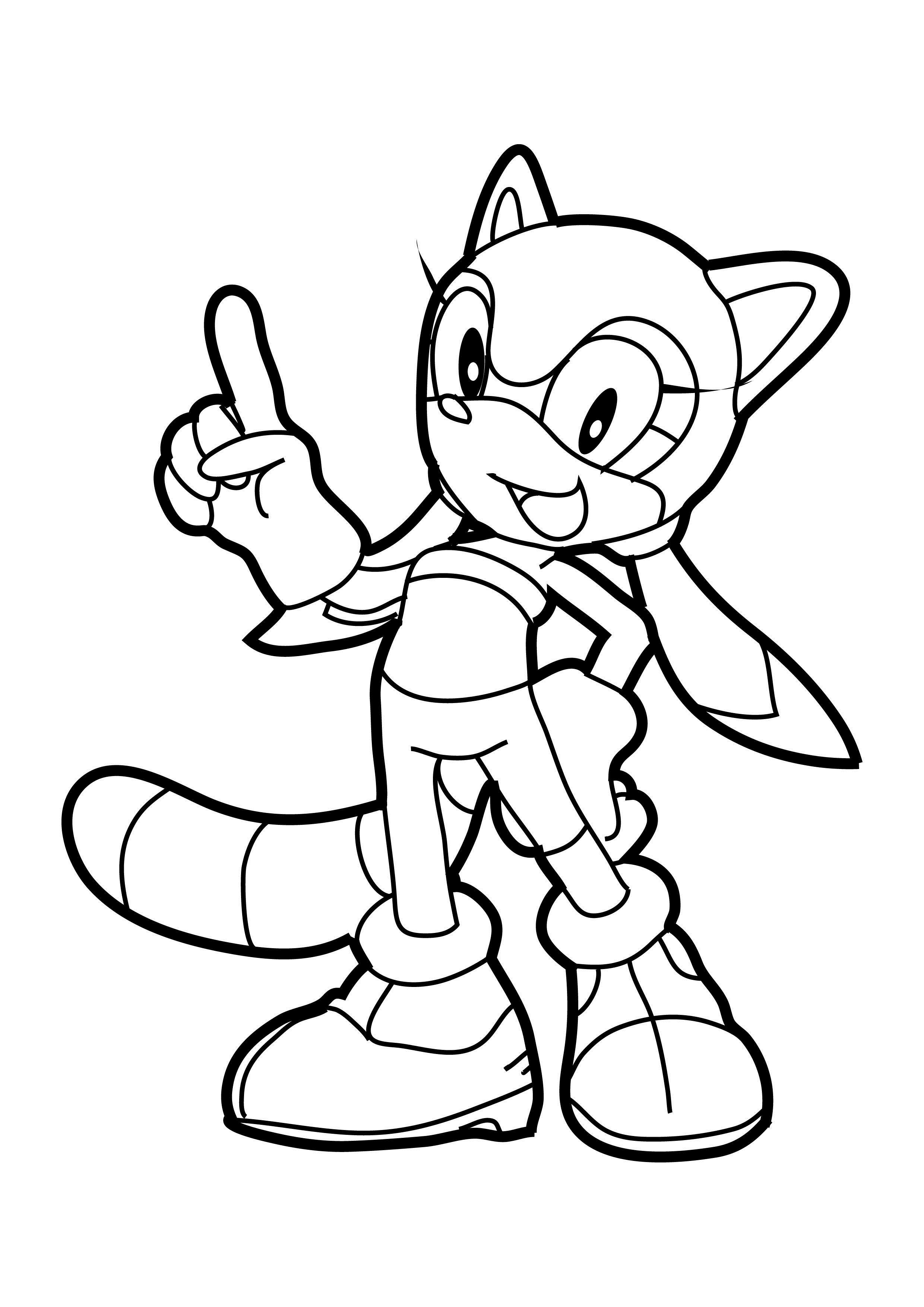 Sonic the Hedgehog Coloring Pages | 360ColoringPages