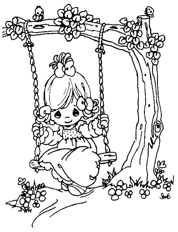 Precious Moments Coloring Pages 360coloringpages