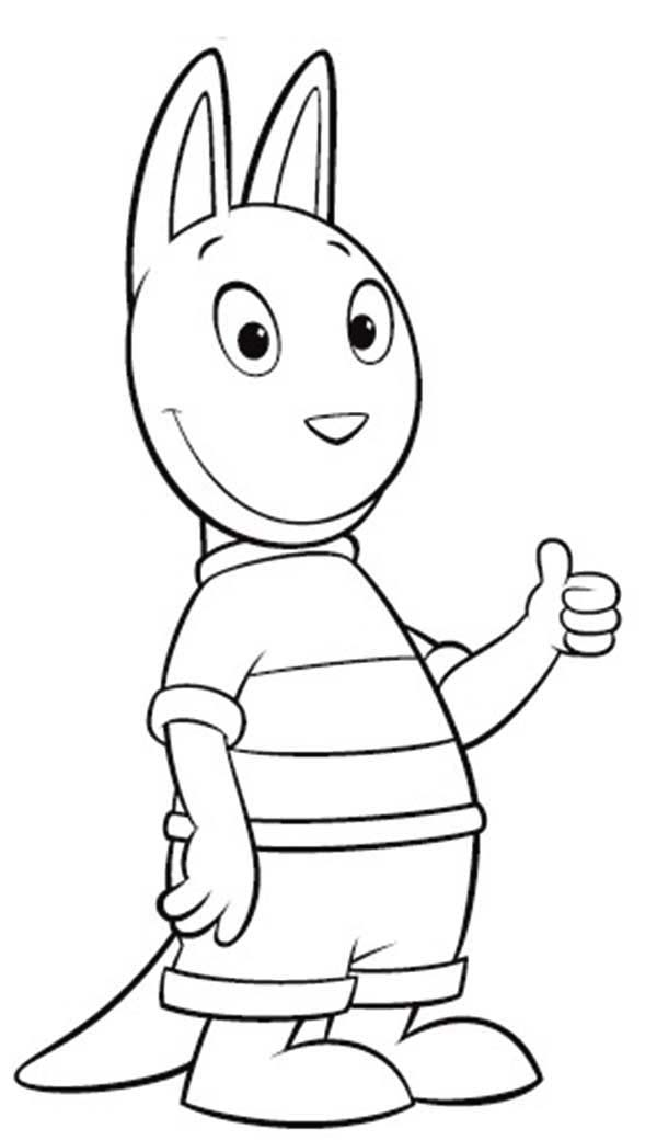 Backyardigans Coloring Pages Pablo | Coloring Pages