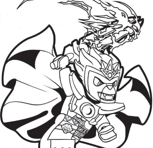 Chima Coloring Pages 360ColoringPages