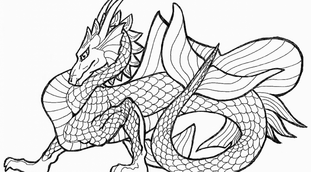 dragon coloring pages 360coloringpages - Free Coloring Pages Of Dragons To Print